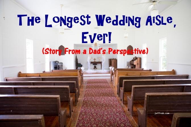 The Longest Wedding Aisle, Ever