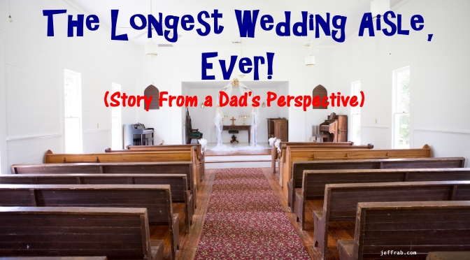 The Longest Wedding Aisle, Ever