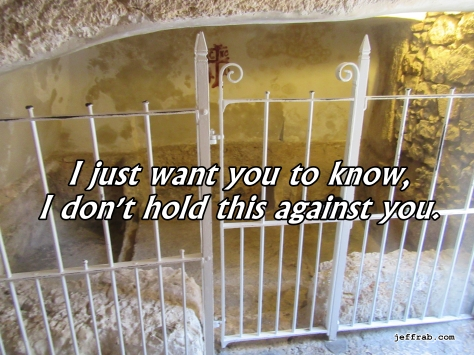 Jesus' Empty Garden Tomb