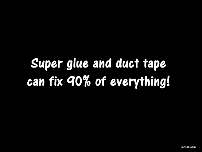 Super Glue Stitches