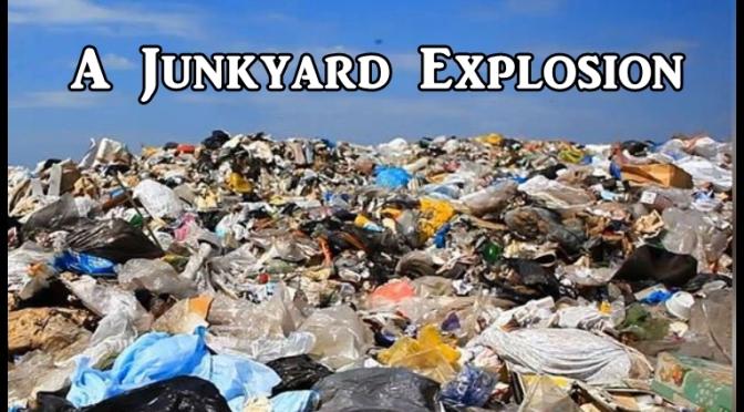 Junkyard Explosion